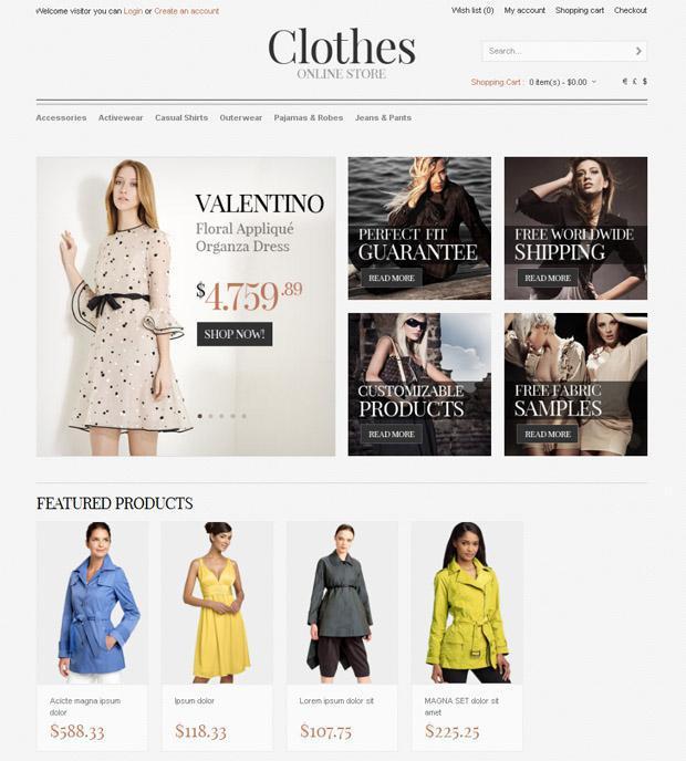 Онлайн-магазин женской одежды